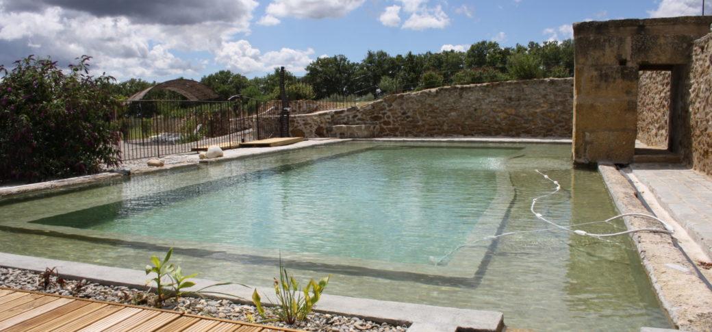 piscine biologique et naturelle