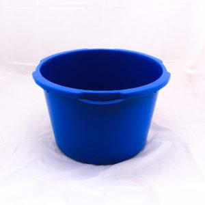 Récipient bleu de stock 67cm