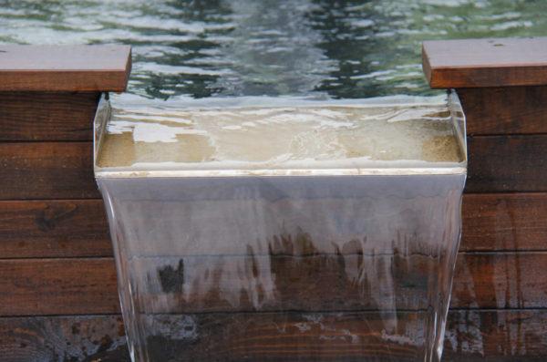lame d'eau inox