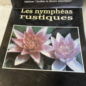 Livre «les Nymphéas rustiques»