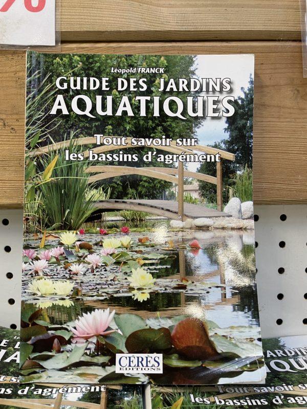 livre guide des jardins aquatiques