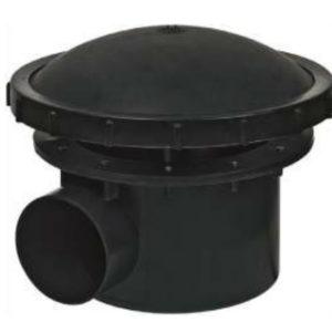 Bonde de fond 110 mm avec aération