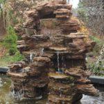 cascade en pierre
