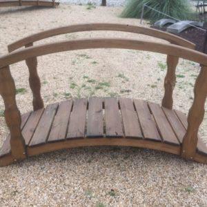 Pont en bois 180cm