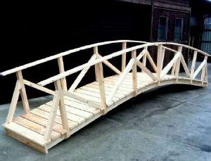 Pont en bois 4m