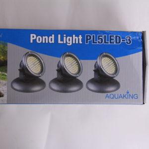 POND LIGHT PL5LED-3 spots