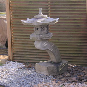 Lanterne granite RANKEI 90 cm
