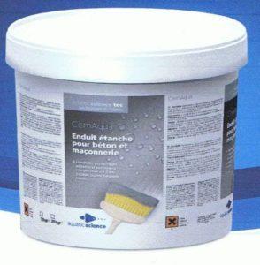 Cemaqua Enduit hydrofuge 12 KG