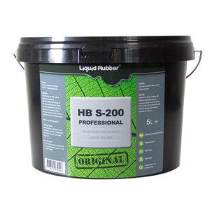 Caoutchouc liquide HBS200 professionnel