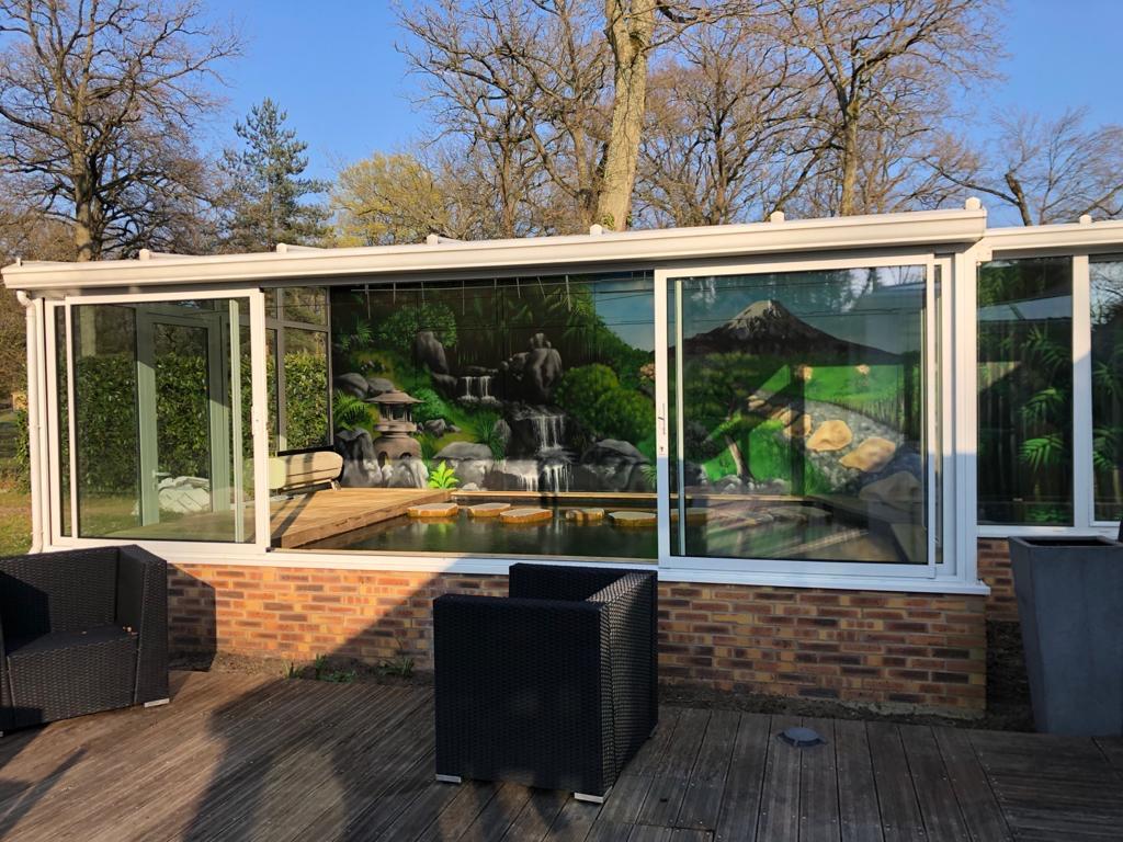 vue exterieur veranda