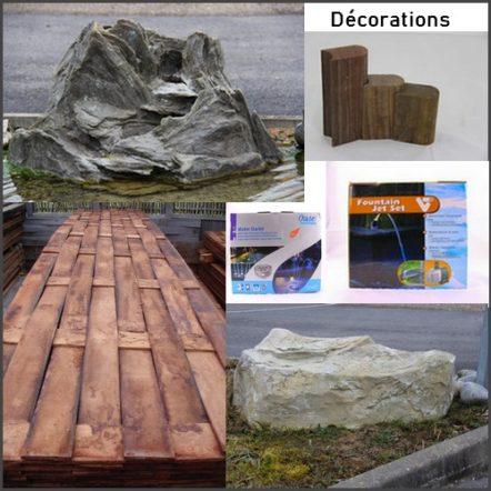 Décoration du bassin