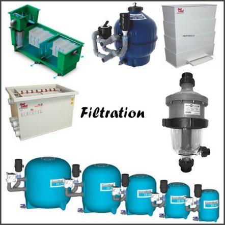 Filtration pour bassin de jardin