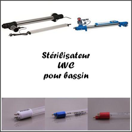 Stérilisateur UVC pour bassin